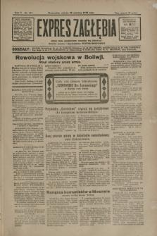 Expres Zagłębia : jedyny organ demokratyczny niezależny woj. kieleckiego. R.5, nr 167 (28 czerwca 1930)