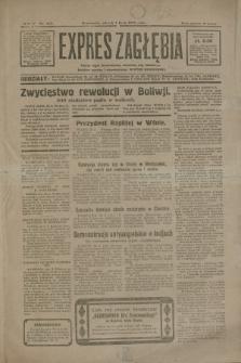 Expres Zagłębia : jedyny organ demokratyczny niezależny woj. kieleckiego. R.5, nr 169 (1 lipca 1930)