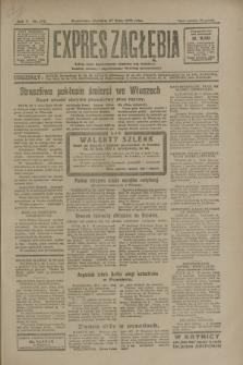 Expres Zagłębia : jedyny organ demokratyczny niezależny woj. kieleckiego. R.5, nr 192 (27 lipca 1930)