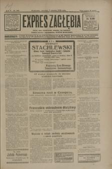 Expres Zagłębia : jedyny organ demokratyczny niezależny woj. kieleckiego. R.5, nr 201 (7 sierpnia 1930)