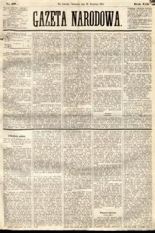 Gazeta Narodowa. 1874, nr98