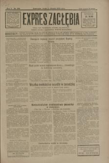 Expres Zagłębia : jedyny organ demokratyczny niezależny woj. kieleckiego. R.5, nr 206 (13 sierpnia 1930)