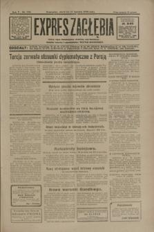 Expres Zagłębia : jedyny organ demokratyczny niezależny woj. kieleckiego. R.5, nr 210 (17 sierpnia 1930)