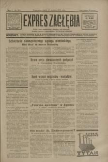 Expres Zagłębia : jedyny organ demokratyczny niezależny woj. kieleckiego. R.5, nr 214 (22 sierpnia 1930)