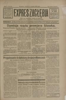 Expres Zagłębia : jedyny organ demokratyczny niezależny woj. kieleckiego. R.5, nr 216 (24 sierpnia 1930)