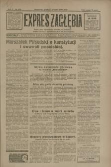Expres Zagłębia : jedyny organ demokratyczny niezależny woj. kieleckiego. R.5, nr 218 (27 sierpnia 1930)