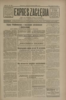 Expres Zagłębia : jedyny organ demokratyczny niezależny woj. kieleckiego. R.5, nr 221 (30 sierpnia 1930)