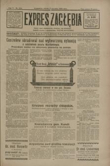 Expres Zagłębia : jedyny organ demokratyczny niezależny woj. kieleckiego. R.5, nr 224 (2 września 1930)