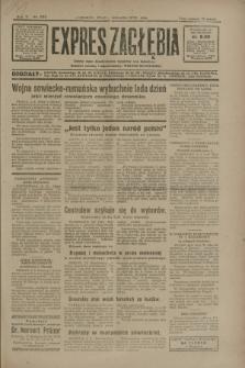 Expres Zagłębia : jedyny organ demokratyczny niezależny woj. kieleckiego. R.5, nr 225 (3 września 1930)