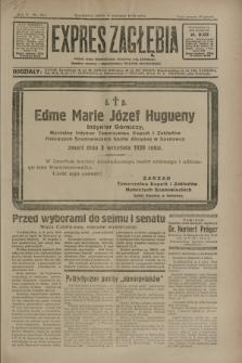 Expres Zagłębia : jedyny organ demokratyczny niezależny woj. kieleckiego. R.5, nr 227 (5 września 1930)