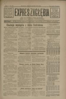 Expres Zagłębia : jedyny organ demokratyczny niezależny woj. kieleckiego. R.5, nr 232 (10 września 1930)