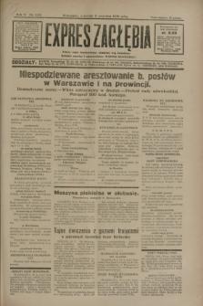 Expres Zagłębia : jedyny organ demokratyczny niezależny woj. kieleckiego. R.5, nr 233 (11 września 1930)