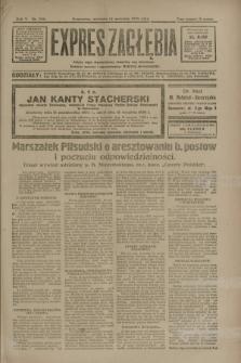 Expres Zagłębia : jedyny organ demokratyczny niezależny woj. kieleckiego. R.5, nr 236 (14 września 1930)
