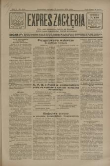 Expres Zagłębia : jedyny organ demokratyczny niezależny woj. kieleckiego. R.5, nr 240 (18 września 1930)