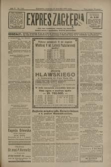 Expres Zagłębia : jedyny organ demokratyczny niezależny woj. kieleckiego. R.5, nr 243 (21 września 1930)