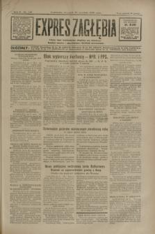 Expres Zagłębia : jedyny organ demokratyczny niezależny woj. kieleckiego. R.5, nr 247 (25 września 1930)