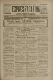 Expres Zagłębia : jedyny organ demokratyczny niezależny woj. kieleckiego. R.5, nr 254 (2 października 1930)