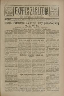 Expres Zagłębia : jedyny organ demokratyczny niezależny woj. kieleckiego. R.5, nr 259 (7 października 1930)