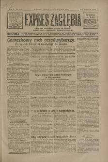 Expres Zagłębia : jedyny organ demokratyczny niezależny woj. kieleckiego. R.5, nr 260 (8 października 1930)