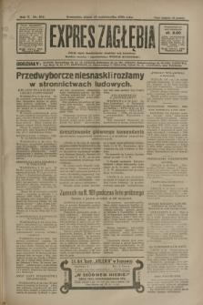 Expres Zagłębia : jedyny organ demokratyczny niezależny woj. kieleckiego. R.5, nr 262 (10 października 1930)