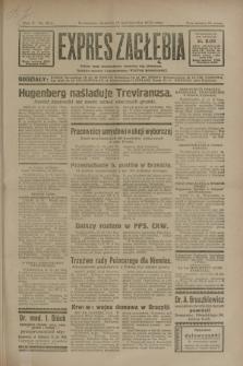 Expres Zagłębia : jedyny organ demokratyczny niezależny woj. kieleckiego. R.5, nr 264 (12 października 1930)