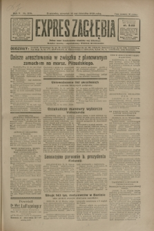 Expres Zagłębia : jedyny organ demokratyczny niezależny woj. kieleckiego. R.5, nr 268 (16 października 1930)