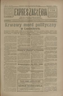 Expres Zagłębia : jedyny organ demokratyczny niezależny woj. kieleckiego. R.5, nr 269 (17 października 1930)