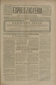 Expres Zagłębia : jedyny organ demokratyczny niezależny woj. kieleckiego. R.5, nr 270 (18 października 1930)