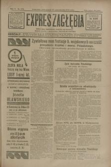 Expres Zagłębia : jedyny organ demokratyczny niezależny woj. kieleckiego. R.5, nr 272 (20 października 1930)