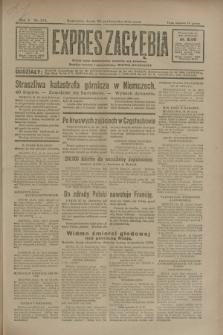 Expres Zagłębia : jedyny organ demokratyczny niezależny woj. kieleckiego. R.5, nr 274 (22 października 1930)