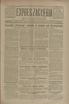 Expres Zagłębia : jedyny organ demokratyczny niezależny woj. kieleckiego. R.5, nr 275 (23 października 1930)