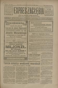 Expres Zagłębia : jedyny organ demokratyczny niezależny woj. kieleckiego. R.5, nr 278 (26 października 1930)