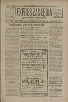 Expres Zagłębia : jedyny organ demokratyczny niezależny woj. kieleckiego. R.5, nr 286 (4 listopada 1930)