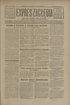 Expres Zagłębia : jedyny organ demokratyczny niezależny woj. kieleckiego. R.5, nr 295 (13 listopada 1930)