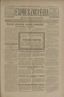 Expres Zagłębia : jedyny organ demokratyczny niezależny woj. kieleckiego. R.5, nr 296 (14 listopada 1930)