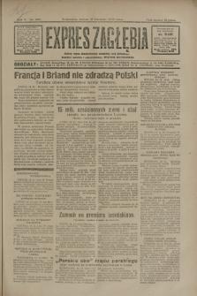 Expres Zagłębia : jedyny organ demokratyczny niezależny woj. kieleckiego. R.5, nr 297 (15 listopada 1930)
