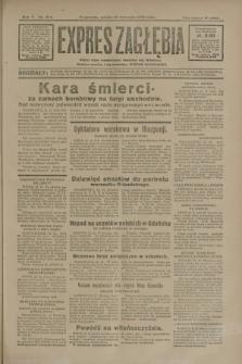 Expres Zagłębia : jedyny organ demokratyczny niezależny woj. kieleckiego. R.5, nr 304 (22 listopada 1930)