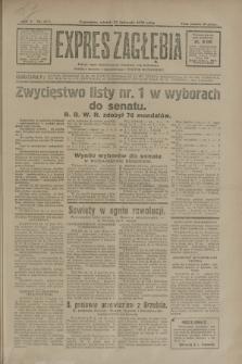 Expres Zagłębia : jedyny organ demokratyczny niezależny woj. kieleckiego. R.5, nr 307 (25 listopada 1930)