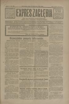 Expres Zagłębia : jedyny organ demokratyczny niezależny woj. kieleckiego. R.5, nr 310 (28 listopada 1930)