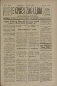 Expres Zagłębia : jedyny organ demokratyczny niezależny woj. kieleckiego. R.5, nr 315 (3 grudnia 1930)