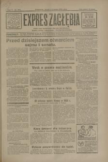 Expres Zagłębia : jedyny organ demokratyczny niezależny woj. kieleckiego. R.5, nr 320 (9 grudnia 1930)