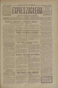 Expres Zagłębia : jedyny organ demokratyczny niezależny woj. kieleckiego. R.5, nr 323 (12 grudnia 1930)