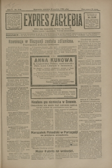Expres Zagłębia : jedyny organ demokratyczny niezależny woj. kieleckiego. R.5, nr 332 (21 grudnia 1930)