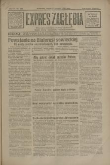 Expres Zagłębia : jedyny organ demokratyczny niezależny woj. kieleckiego. R.5, nr 334 (23 grudnia 1930)