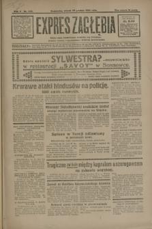 Expres Zagłębia : jedyny organ demokratyczny niezależny woj. kieleckiego. R.5, nr 339 (30 grudnia 1930)