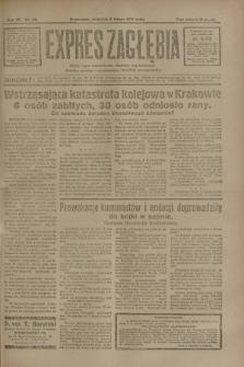 Expres Zagłębia : jedyny organ demokratyczny niezależny woj. kieleckiego. R.6, nr 38 (8 lutego 1931)