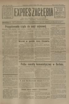 Expres Zagłębia : jedyny organ demokratyczny niezależny woj. kieleckiego. R.6, nr 125 (8 maja 1931)