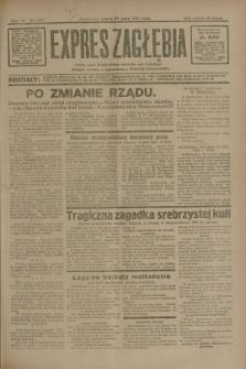 Expres Zagłębia : jedyny organ demokratyczny niezależny woj. kieleckiego. R.6, nr 145 (29 maja 1931)