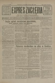 Expres Zagłębia : jedyny organ demokratyczny niezależny woj. kieleckiego. R.6, nr 202 (27 lipca 1931)