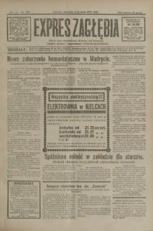 Expres Zagłębia : jedyny organ demokratyczny niezależny woj. kieleckiego. R.6, nr 215 (9 sierpnia 1931)